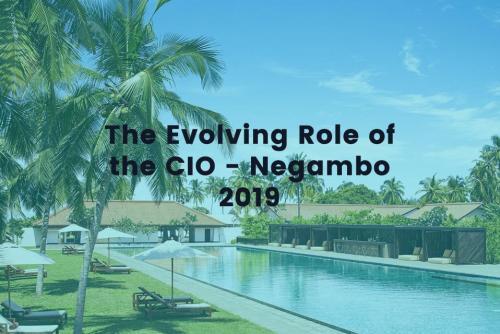 The Evolving Role of the CIO 2019